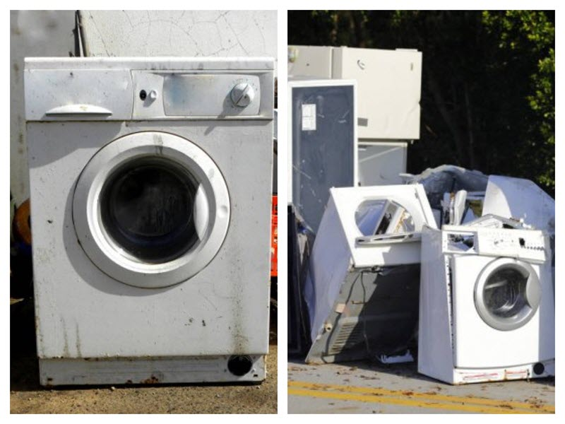 washing machine recycling junk removal fort mill sc